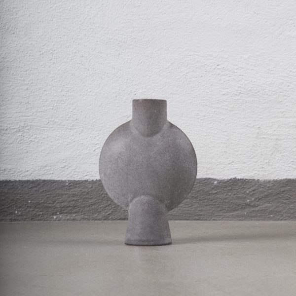 Mc Project Store 101 Sphere Vase Grey Glazed