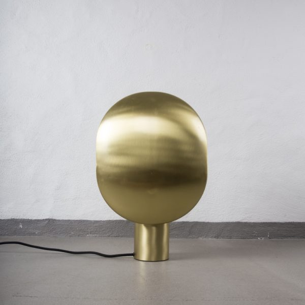 Mc Project Store 101 Copenhagen Clam Table Lamp Brass 3