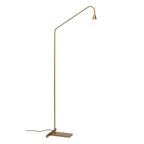 Mc Project Store Trizo 21 Austere Floor Lamp Brass 1