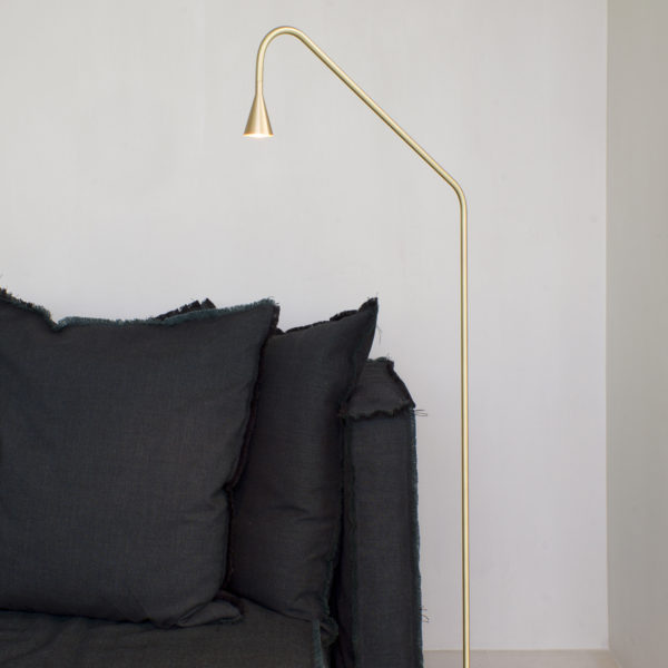 Mc Project Store Trizo 21 Austere Floor Lamp Brass 2
