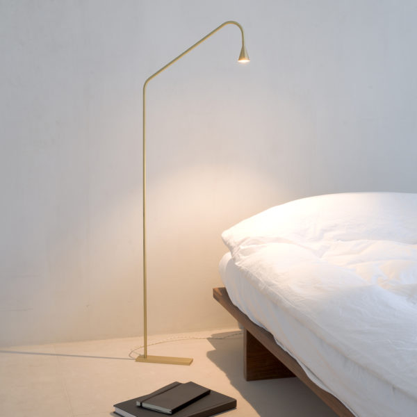 Mc Project Store Trizo 21 Austere Floor Lamp Brass 3