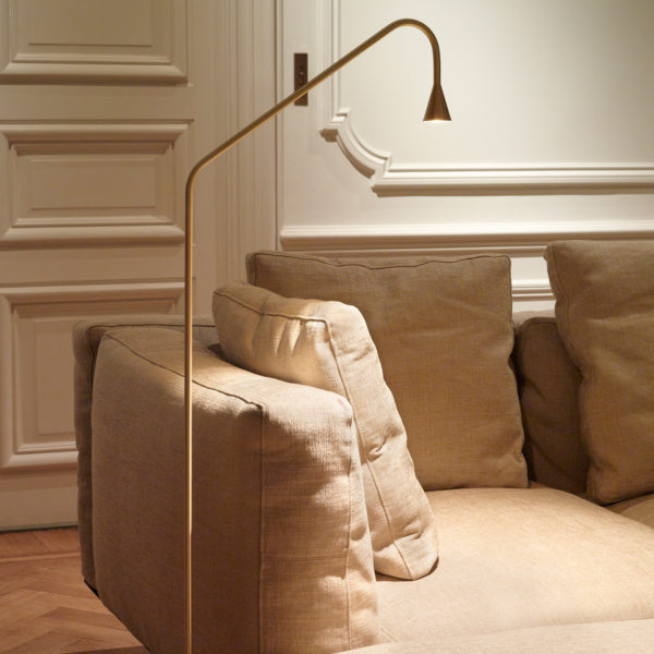 Mc Project Store Trizo 21 Austere Floor Lamp Brass 4