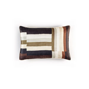 Coussin Soie Dedale Black And White 30x45cm Marie's Corner Project Store 1.