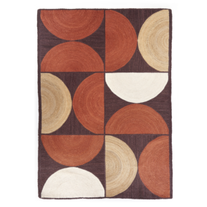 Maries Corner Project Store Tapis Rocky Terracotta 1