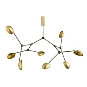 Mc Project Store 101 Drop Chandelier Brass 5