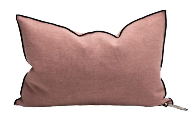 Mc Project Store Coussin Lin Stone Washed Bois De Rose 2