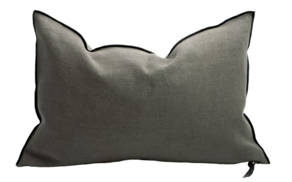 Mc Project Store Coussin Lin Stone Washed Crocodile