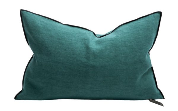 Mc Project Store Coussin Lin Stone Washed Cypres