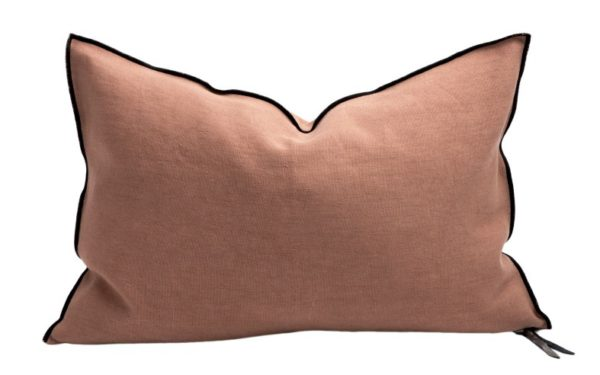 Mc Project Store Coussin Lin Stone Washed Terracota