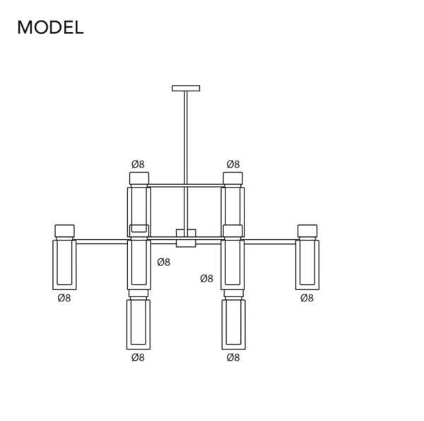 Mc Project Store Tooy Suspension Lamp Osman 560.16 6